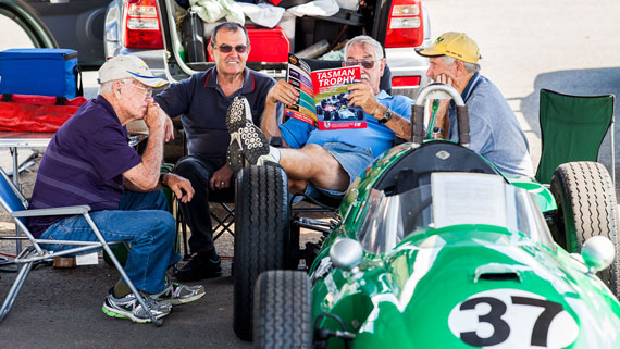 Tasman Trophy Historic Racing